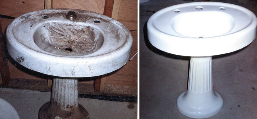 Pedestal Sink Repair