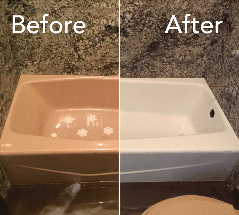 Bathtub Refinishing Example