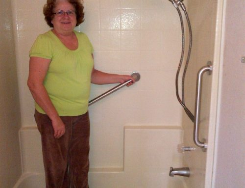 Two winners of Veteran's Contest for Tub Conversion & Grab Bars