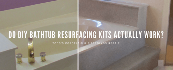 DIY bathroom bathtub resurfacing kits