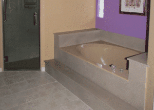 Bathroom bathtub refinishing
