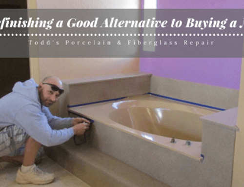 Is Bathtub Refinishing a Good Alternative to Buying a New Bathtub?