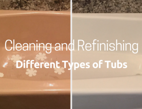 What to use to safely clean your refinished tub todd 39 s for Different types of tubs