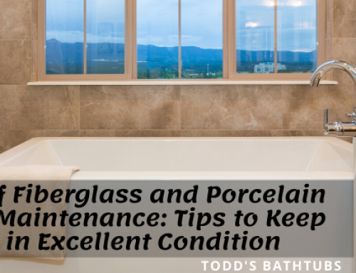 Foolproof Fiberglass and Porcelain Bathtub Maintenance: Tips to Keep Your Tub in Excellent Condition