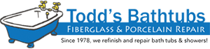 Todds Porcelain & Fiberglass Repair Logo